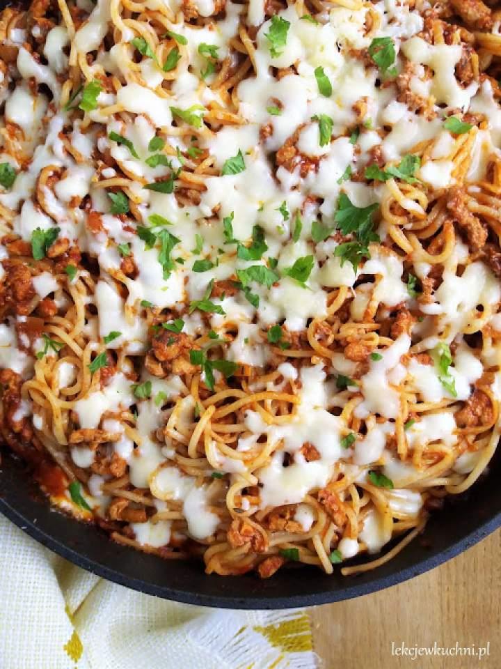 Zapiekane spaghetti bolognese / Baked Bolognese