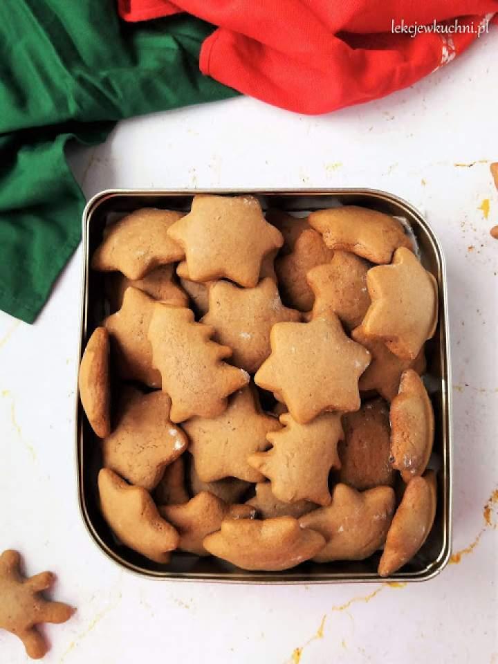 Miękkie pierniczki alpejskie / Soft Apline Gingerbread Cookies