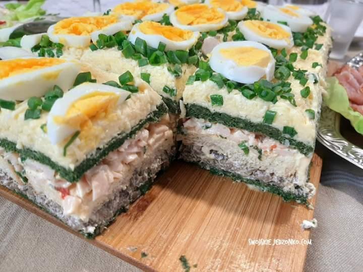 Tort sałatkowy – hit każdej imprezy