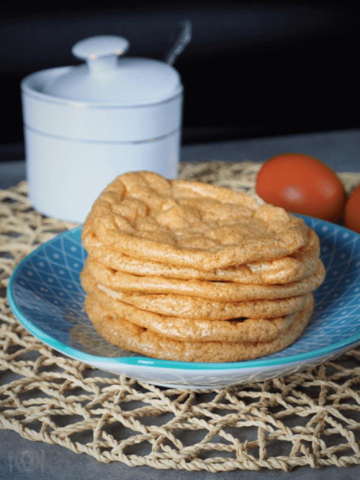 Keto cloud bread (Paleo, LowCarb)
