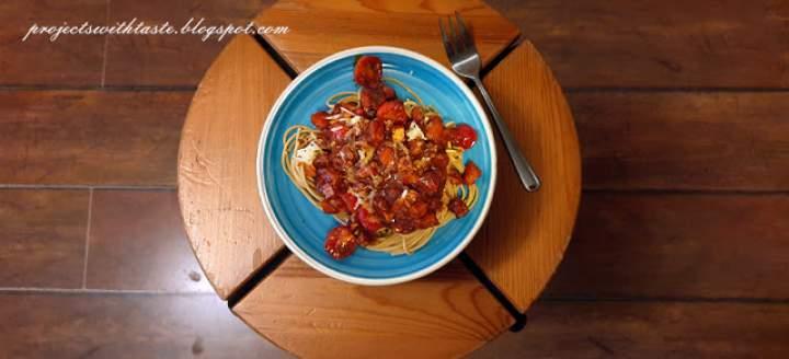 Wegetariańskie spaghetti a'la bolognese / Vegetarian spaghetti a'la bolognese