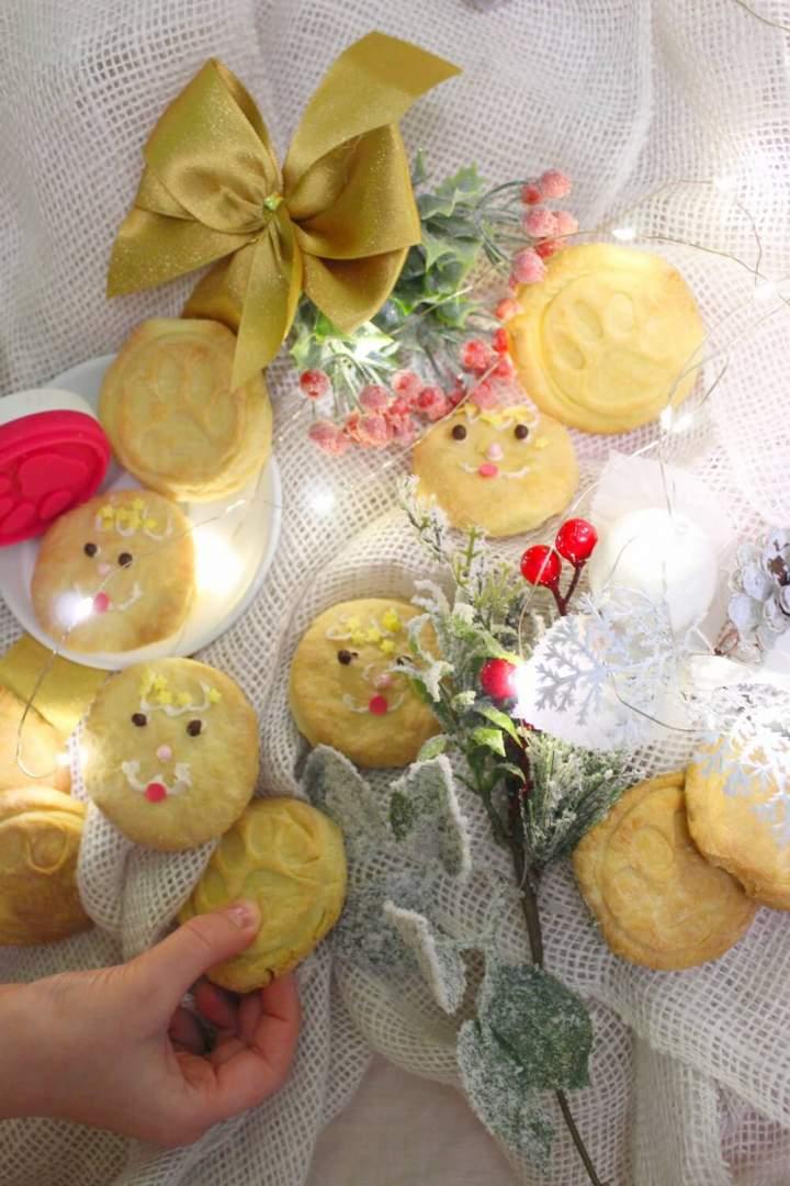 Ciasteczka dla Mikołaja robione przez dzieci