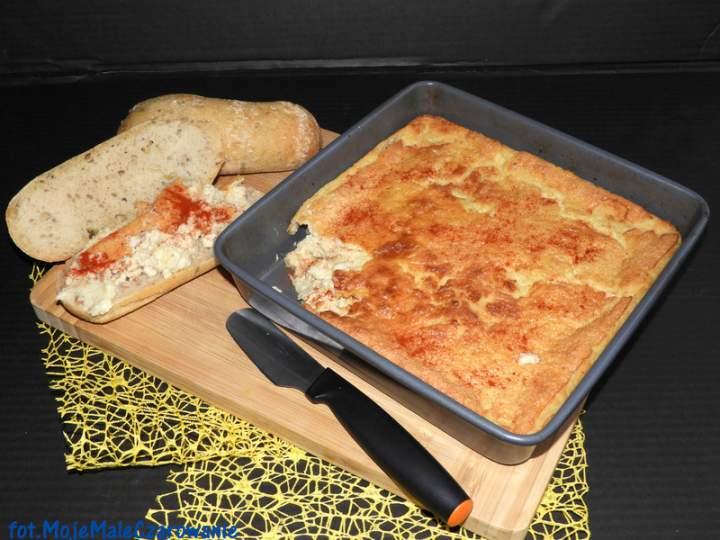 Marokańska pieczona pasta z mąki z ciecierzycy – Karantika