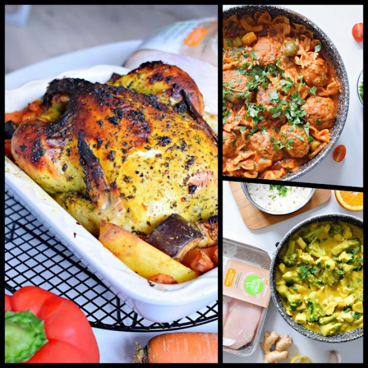 Trzy pomysły na zdrowe dania z kurczakiem