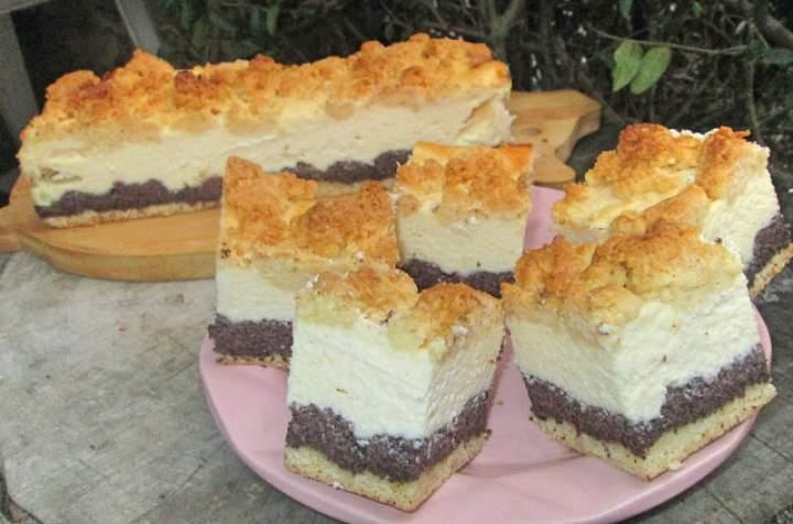 Seromakowiec-pyszne i łatwe ciasto na święta+FILM