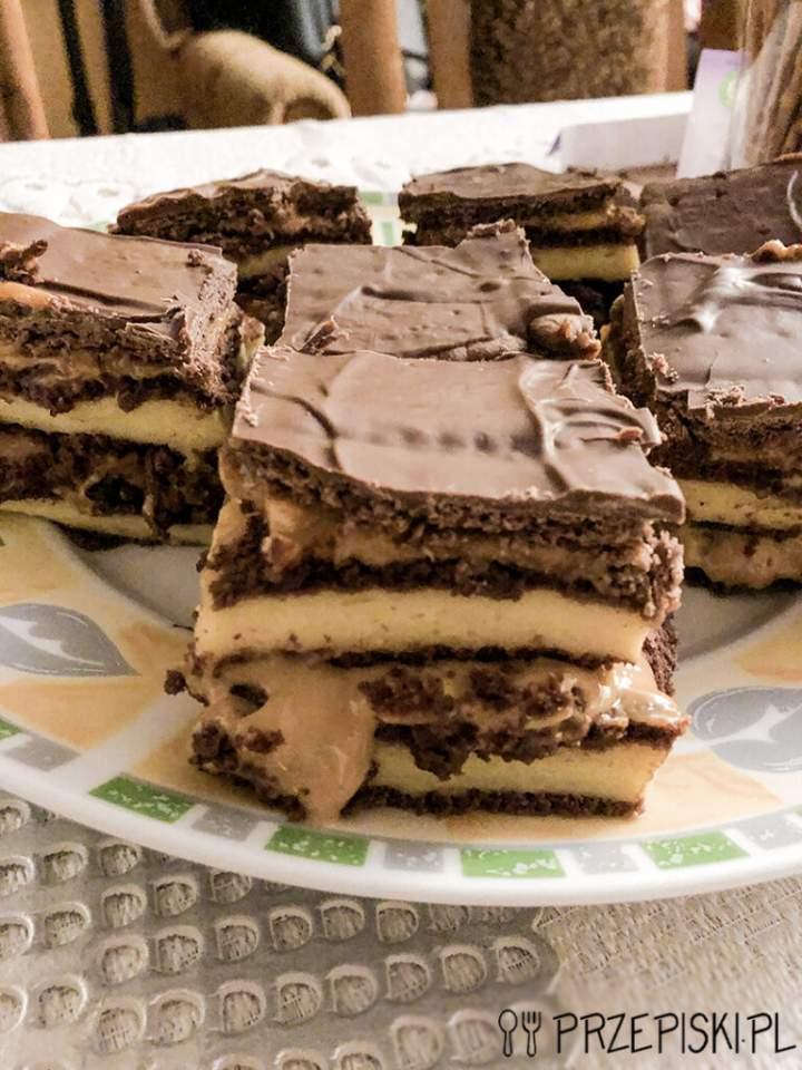 Ciasto Snickers Bez Pieczenia