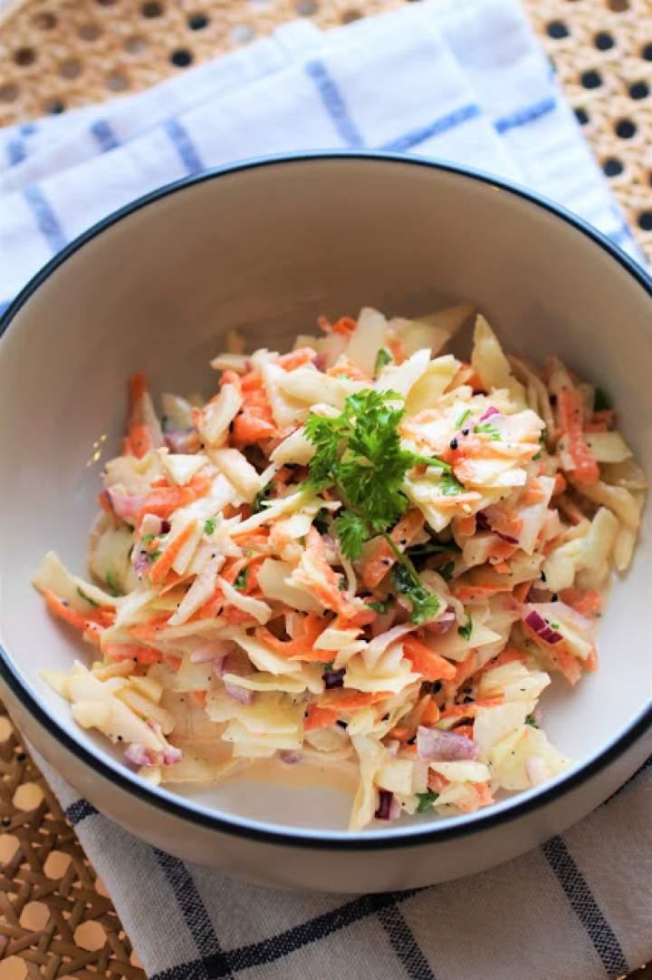 Domowy  Colesław / Homemade Coleslaw
