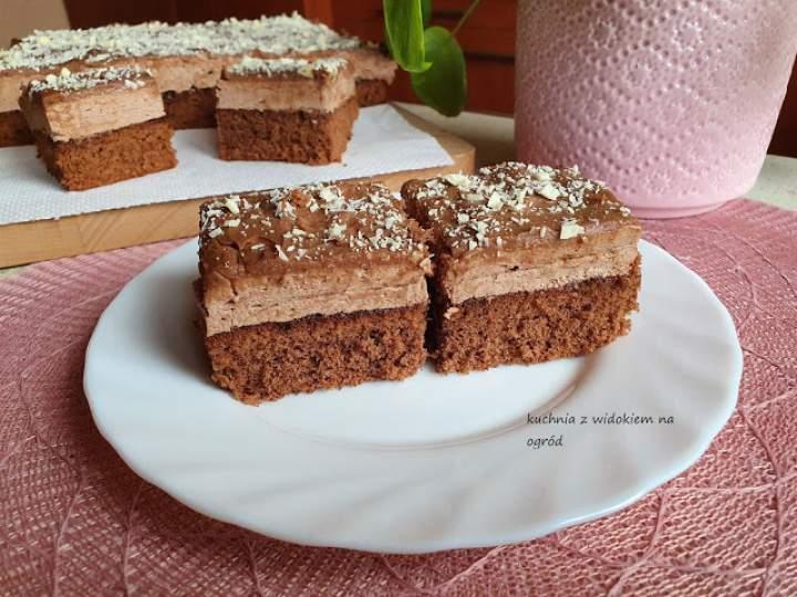 Czekoladowa rozkosz – ciasto potrójnie czekoladowe