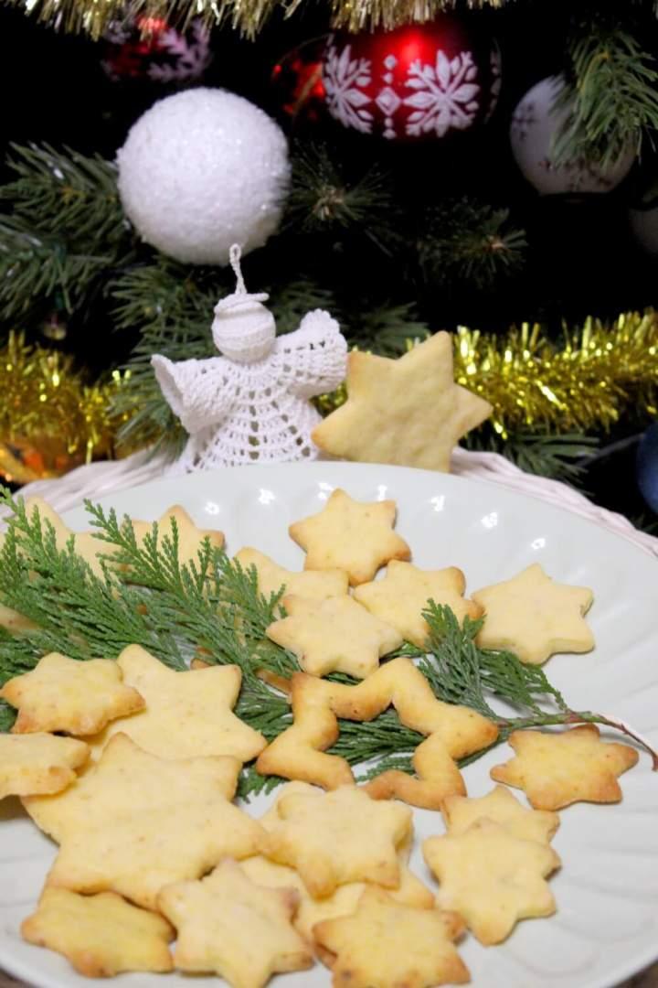 Szybkie ciasteczka na żółtkach