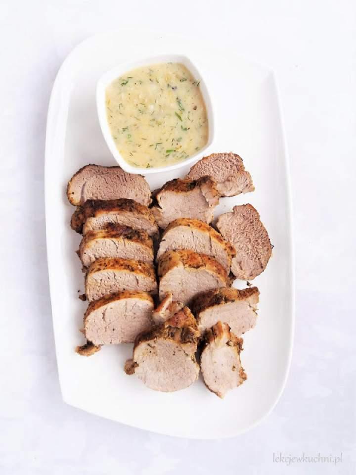 Pieczona polędwiczka wieprzowa / Baked Pork Tenderloin