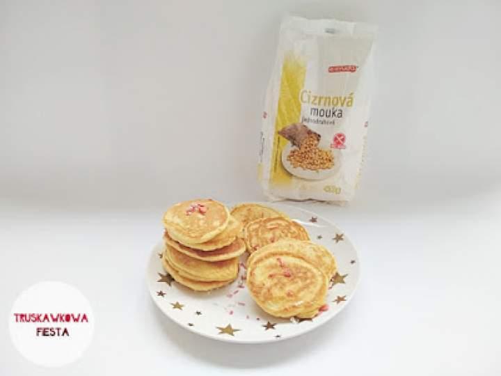 Placuszki sernikowe z mąki z ciecierzycy