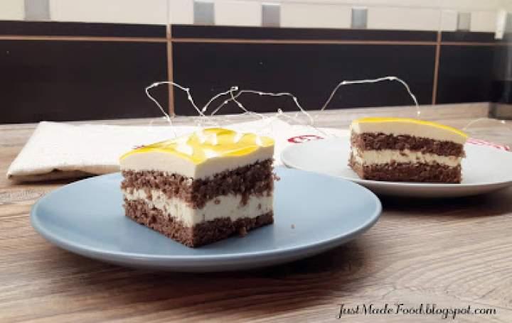 Kakaowe ciasto z marakują