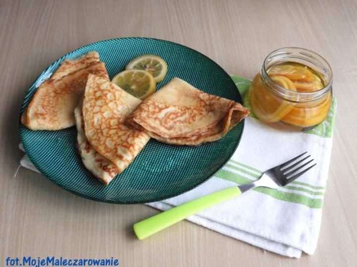 Naleśniki z cytrynką w syropie z wanilią