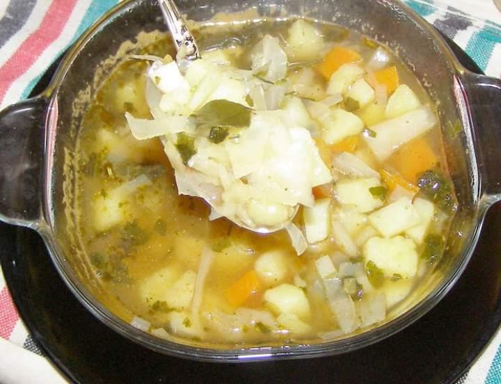 zupa z kapusty na maśle…