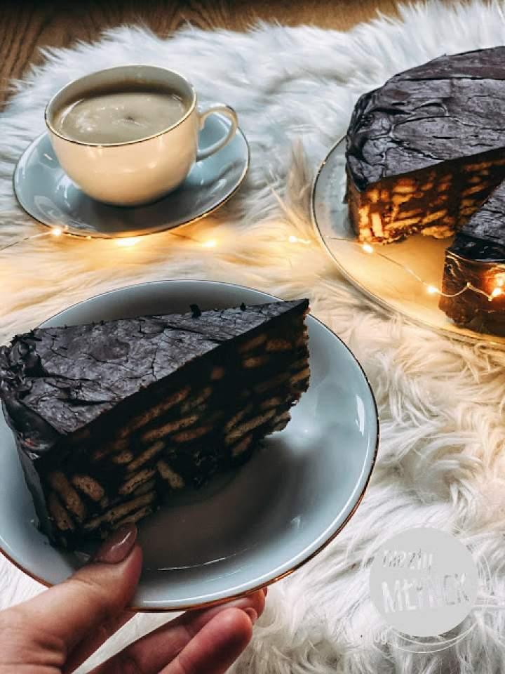 Blok czekoladowy – Tort