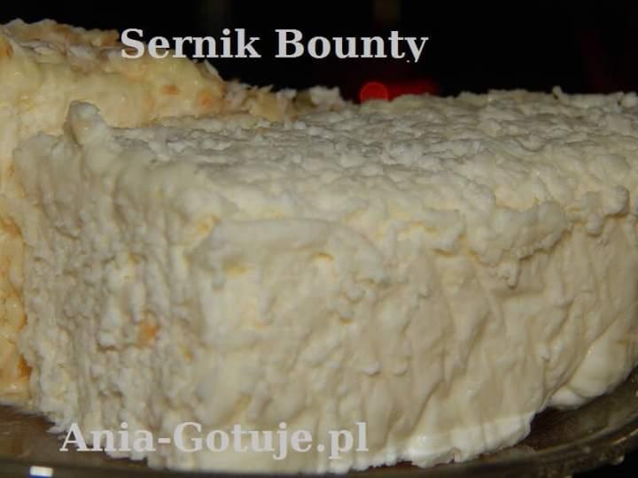 Sernik Bounty bez pieczenia