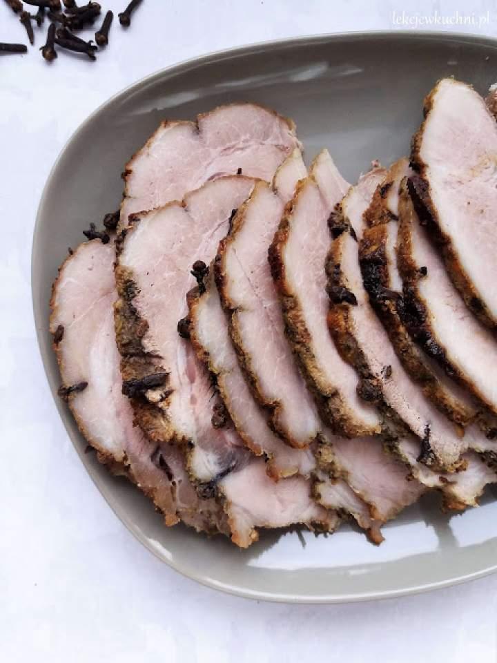 Szynka pieczona z goździkami / Baked Ham with Cloves