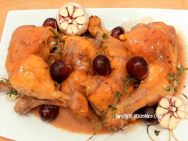 Udka z kurczaka pieczone z czosnkiem – pyszny obiad