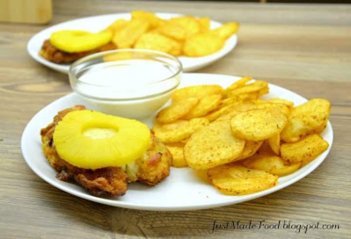 Filet z kurczaka po hawajsku