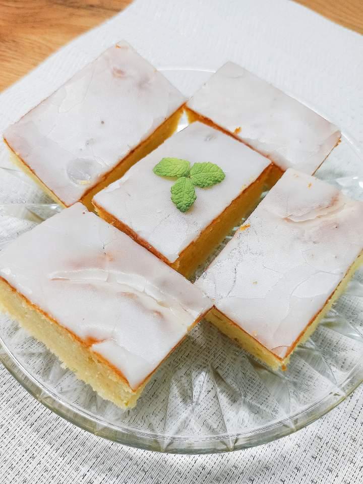 Ciasto limonkowe z ricottą