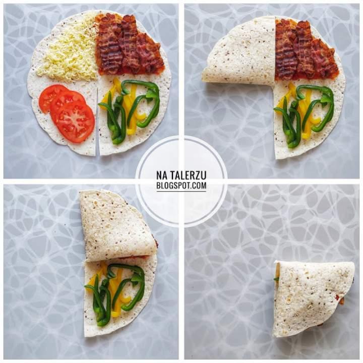 Tortilla zapiekana prosto z Tik Toka