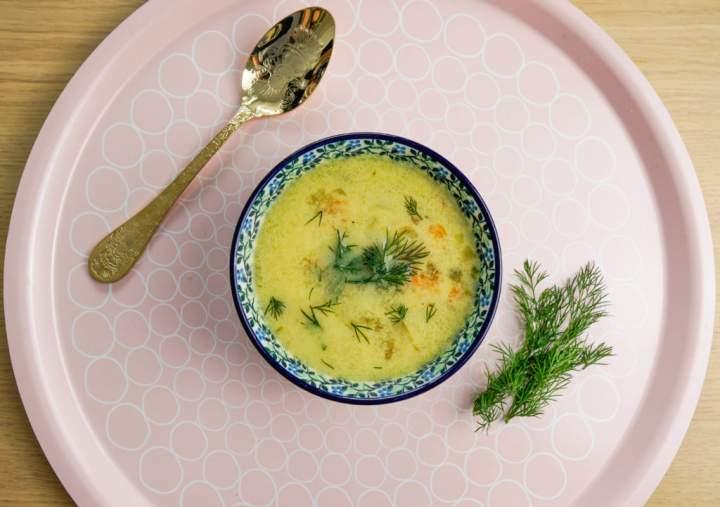 Zupa ogórkowa najprostsza i przepyszna