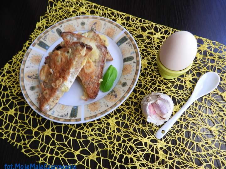 Hiszpańskie tapas czyli chleb jajeczno – czosnkowy