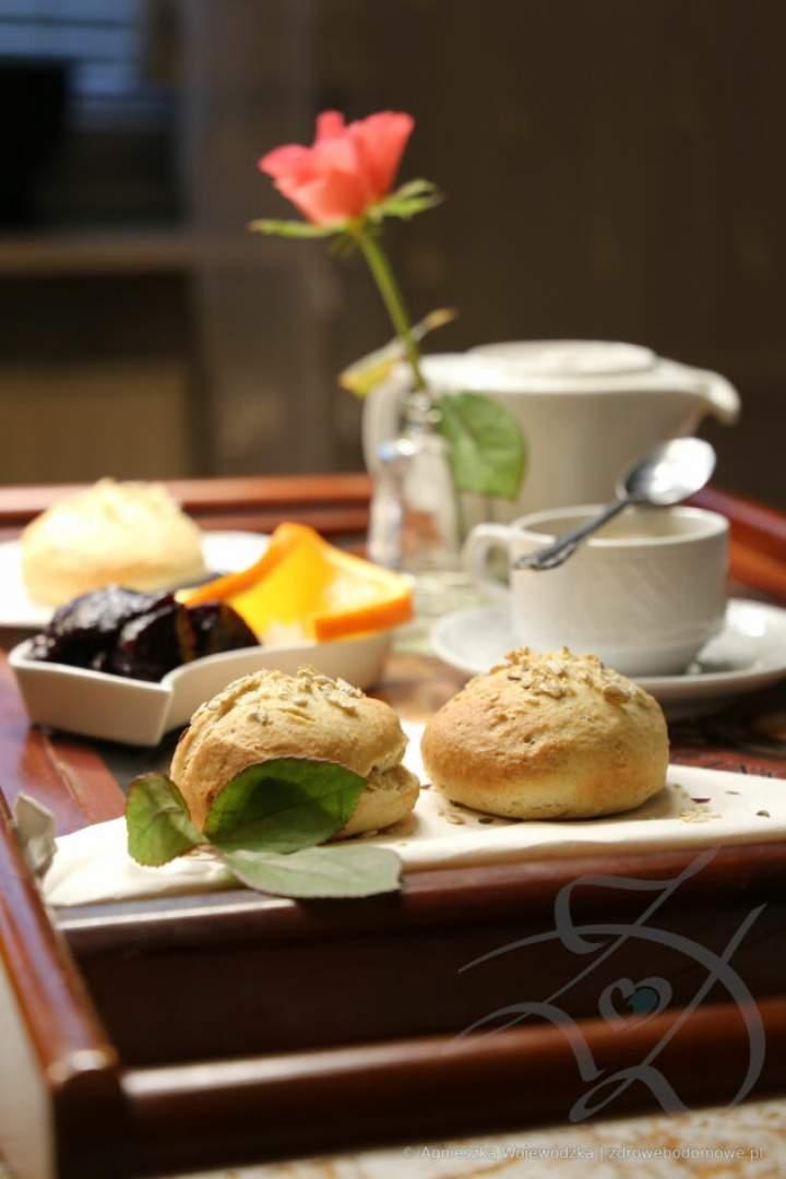 Pełnoziarniste Bułki Śniadaniowe Orkiszowe