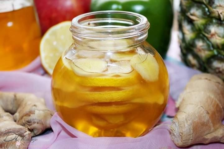 Domowy syrop z cytryny, imbiru i miodu – skuteczny na przeziębienie i na odporność
