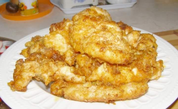 z patelni polędwiczki kurczaka z serem …