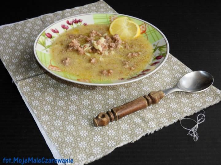 Turecka zupa z mielonym miesem