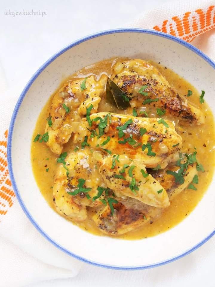 Pierś z kurczaka w sosie własnym / Chicken Breast in Gravy