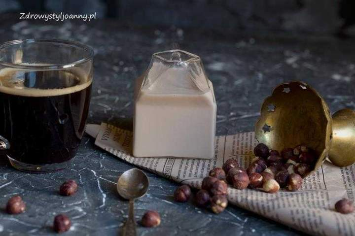 Wegańskie mleczko do kawy.