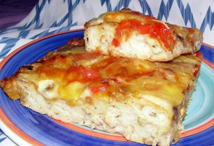 placek pizzowy na Dzień Pizzy 09.02.2021na drożdżach suszonych…
