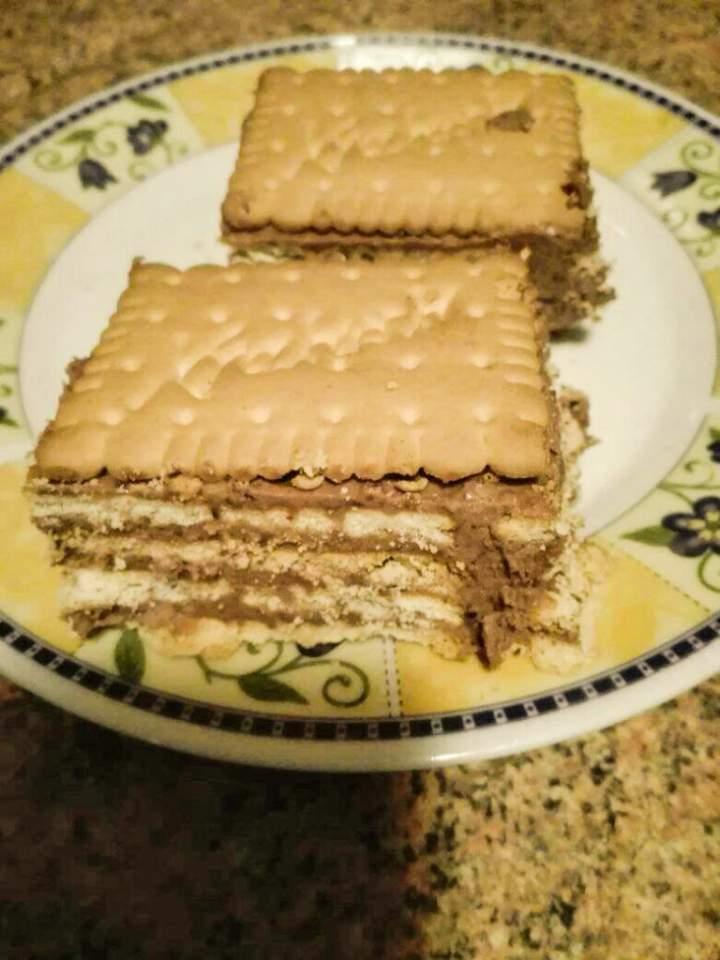 Ciasto stefanka bez pieczenia