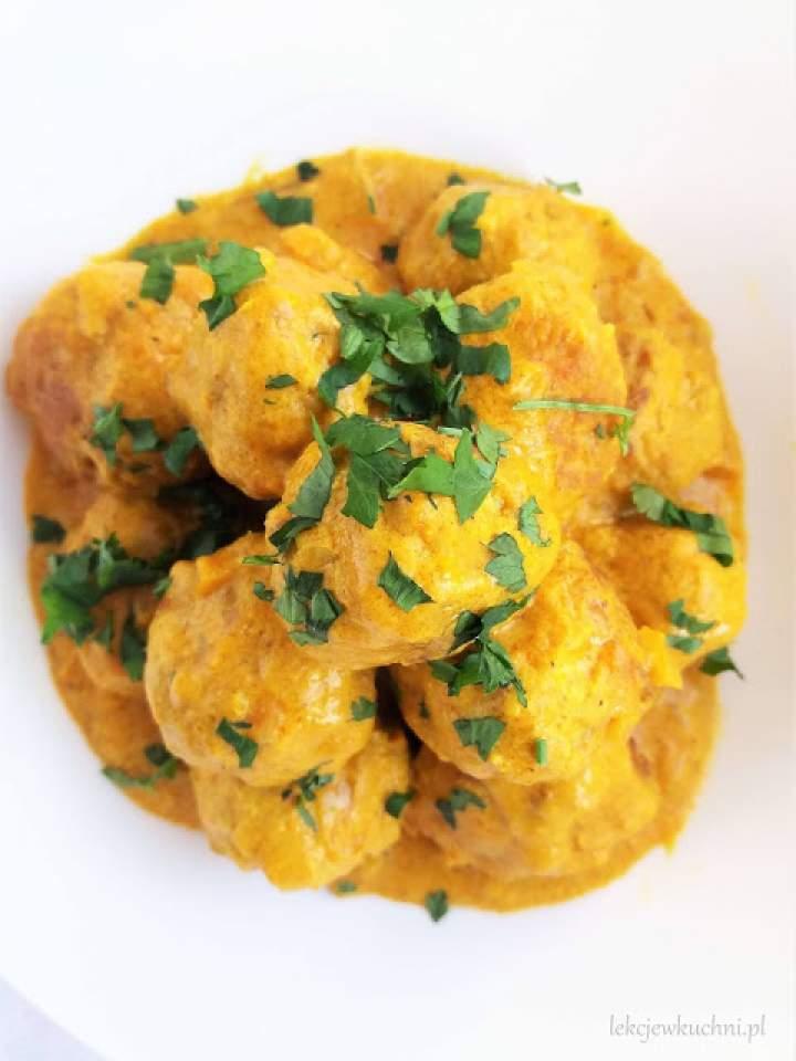 Pulpeciki w sosie curry / Meatball Curry