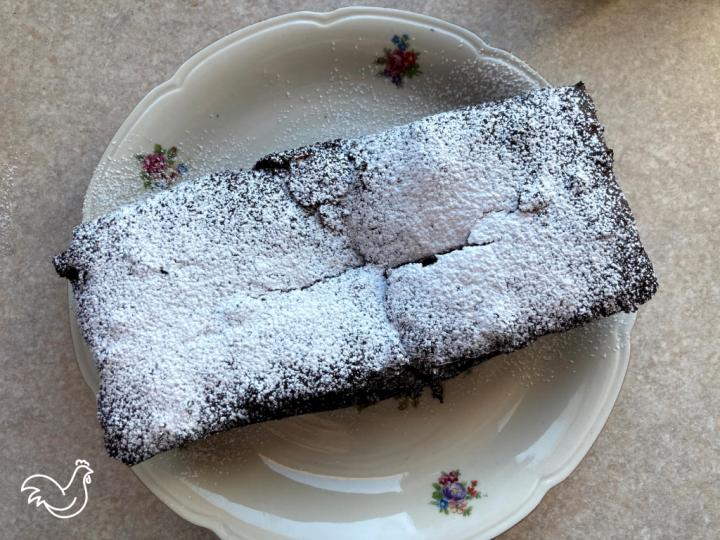Ciasto czekoladowe z kontrolą wypieczenia