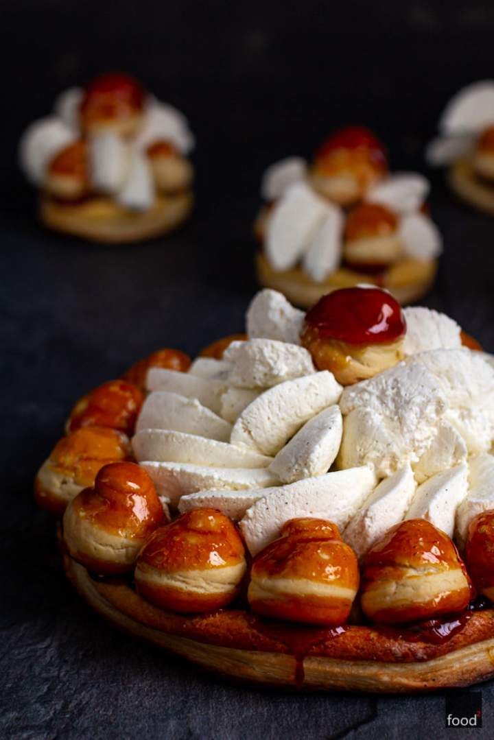 Gâteau Saint-Honoré – francuska tarta na 7. urodziny bloga