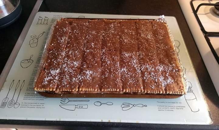 Ciasto Stefania bez pieczenia