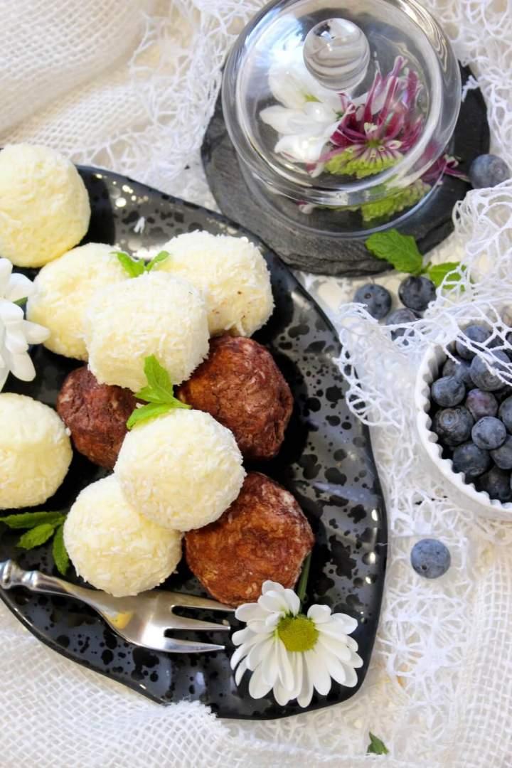 Trufle z białą czekoladą i mascarpone