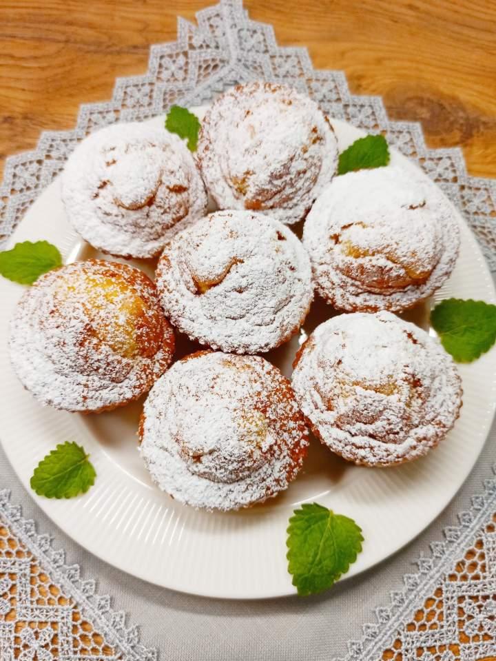 Muffinki budyniowo-kokosowe