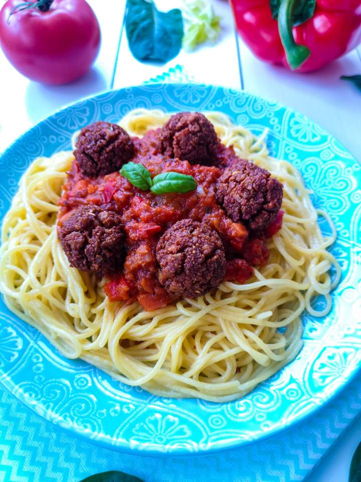 Wegański sos do spaghetti