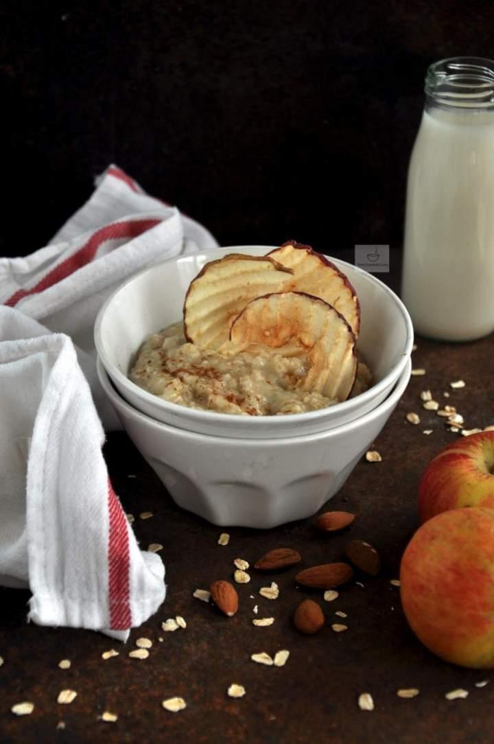 Owsianka jabłkowa (wegańska)