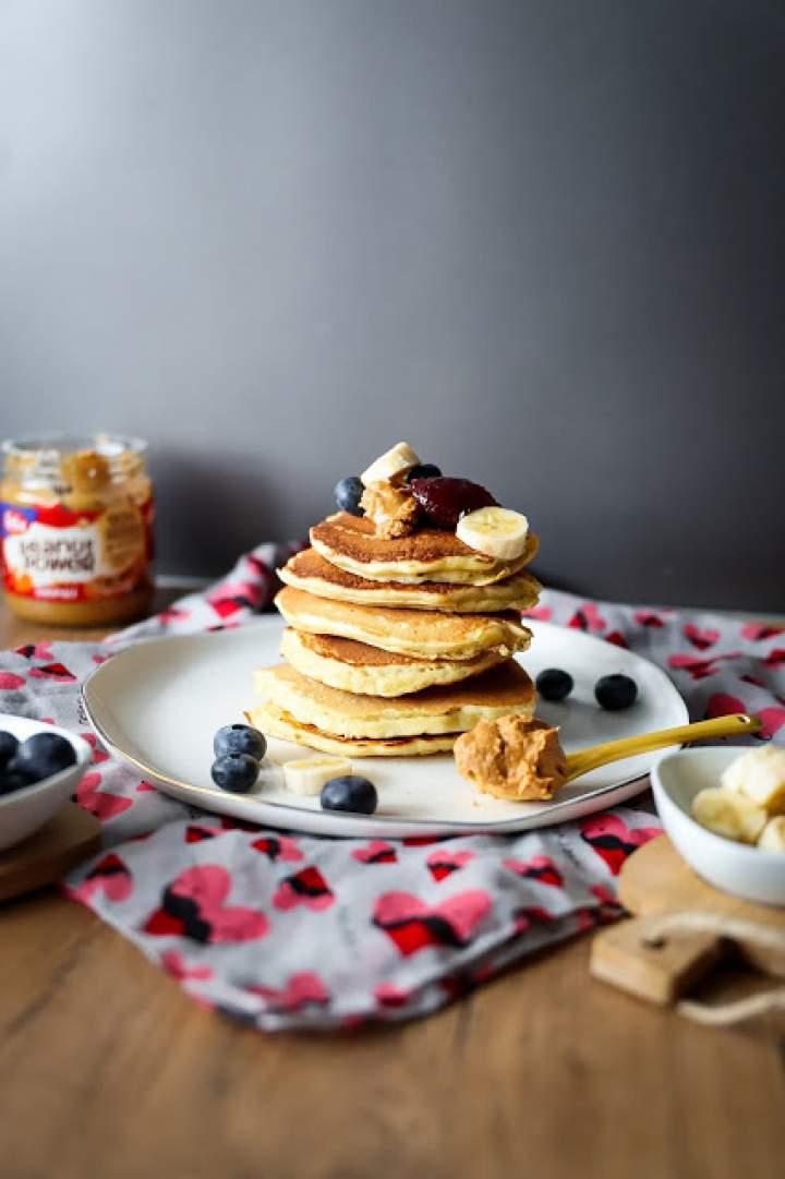 Puszyste pancakes