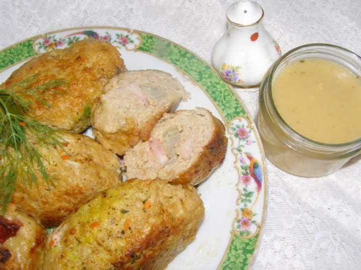 smaczne, łatwe zrazy z mięsa mielonego…
