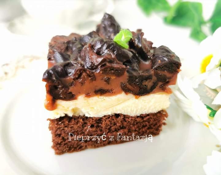 Pijana śliwka w czekoladzie (ciasto)