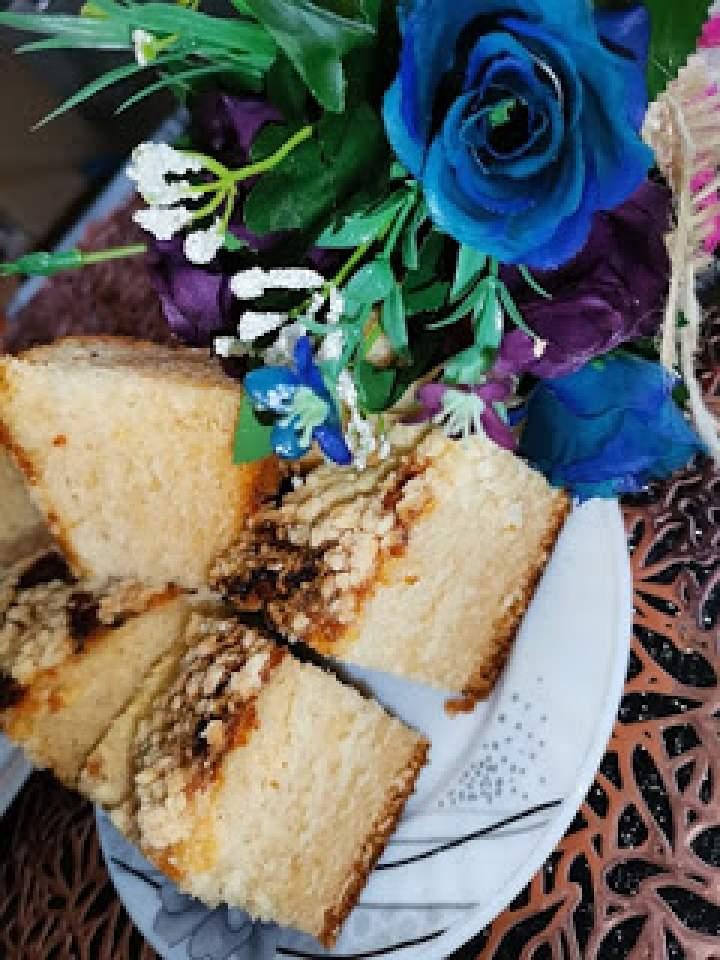 Ciasto drożdżowe dla leniwych z twarogiem
