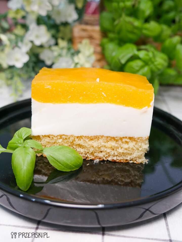 Ciasto z Musem Brzoskwiniowym