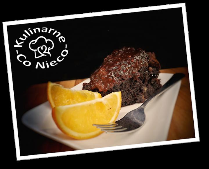 Czekoladowo – Pomarańczowe Ciasto Hiszpańskie