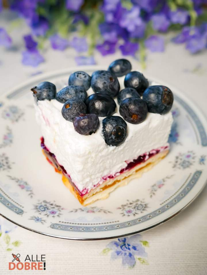 Ciasto borówkowa chmurka